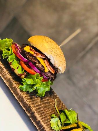 Polkowice, โปแลนด์: Burger Wujek Sam🍔
