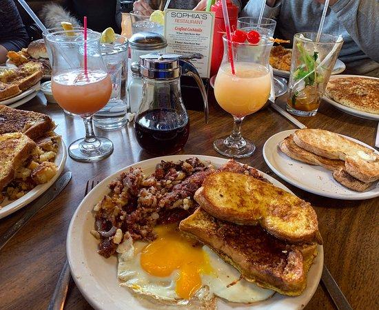 Beautiful Saturday Brunch Review Of Sophia S Restaurant Buffalo Ny Tripadvisor
