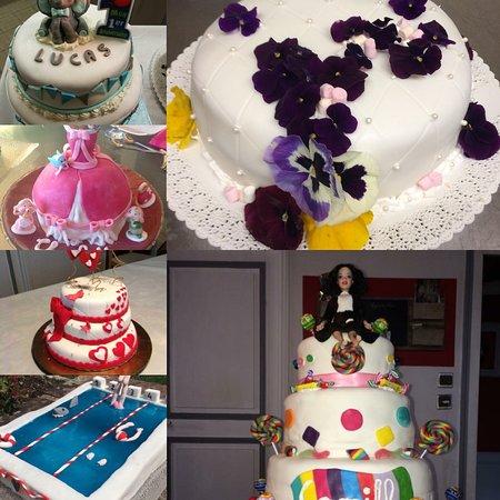 Weeding cakes pour vos anniversaire et vos événements famillaux ou d'entreprise