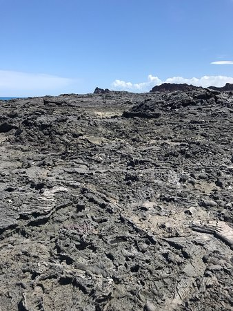 Beautiful lava rock formation with beautiful beach and nice snorkelling.