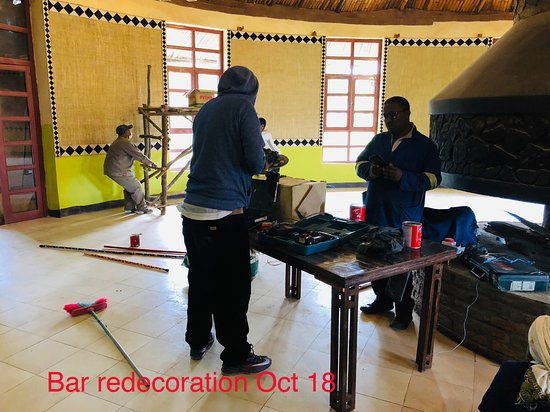 Debark, Ethiopia: The bar was totally redecorated in October 18