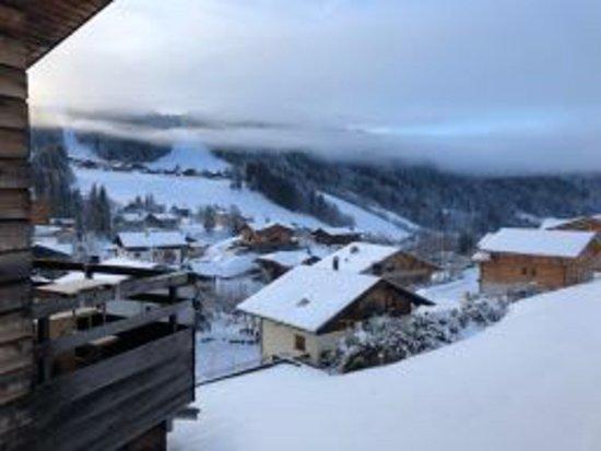 View of La Turche from apartment