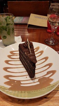 Squisito dolce al cioccolato