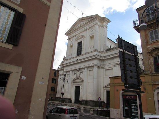 Genzano di Roma, Italy: Chiesa della Santissima Trinità