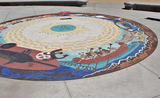 Syuxtun Story Circle mosaic: Syuxtun mosaic