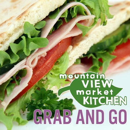 Grab and Go prepared deli foods like cold salads, sandwiches and hummus are available every day. Food is prepared in-house with fresh and organic ingredients.