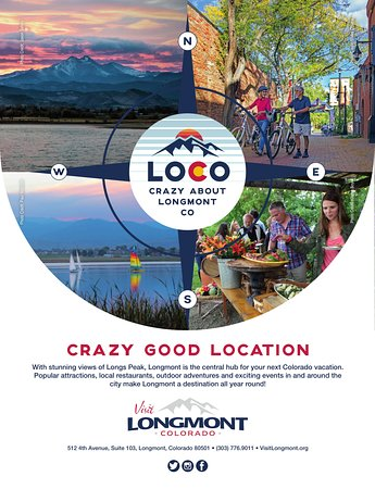 Longmont is a Crazy Good Location to stay and play in Colorado!