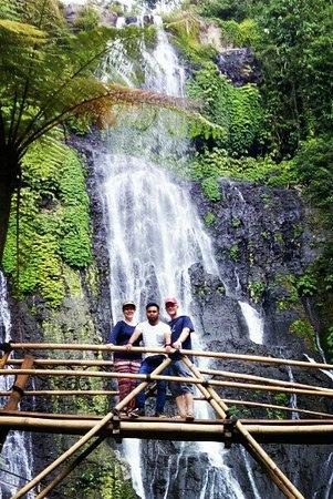 Banyumala Twin Waterfalls: Banyumala Waterfall is in the valley floor of Wanagiri Village, Sukasada District, Buleleng Regency, Bali.