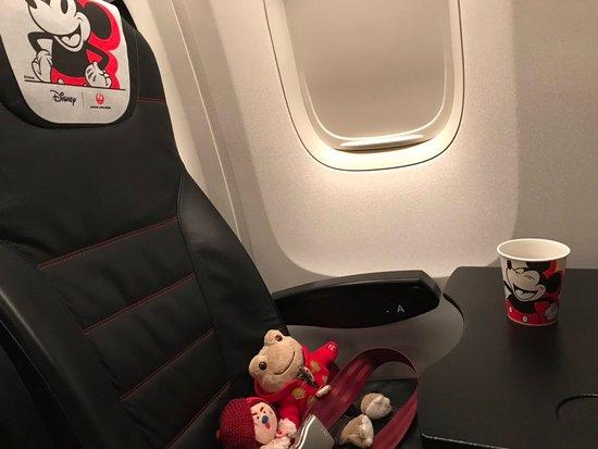 Szapporó, Japán: Flying 'JAL Dream Express'. Lucky us! Haneda, Tokyo bound. JALドリームエクスプレスに搭乗!新千歳→羽田へ。
