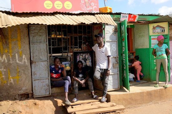 Visiting Kibera around 2019 new year