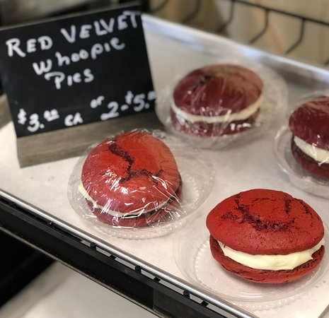 Edwardsburg, MI: One of many different kinds Red Velvet Whoopie Pie $3.00 or 2 for $5.00