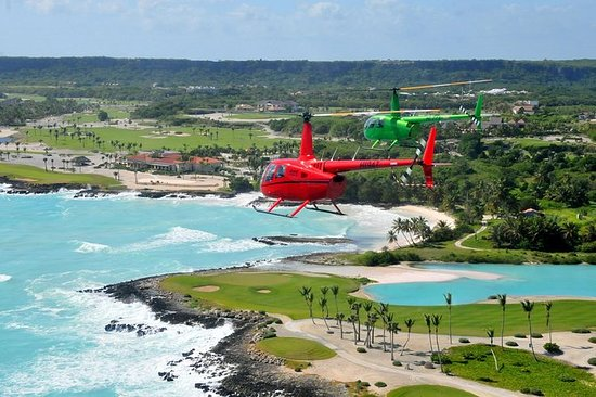 Helicopter Tour from Punta Cana