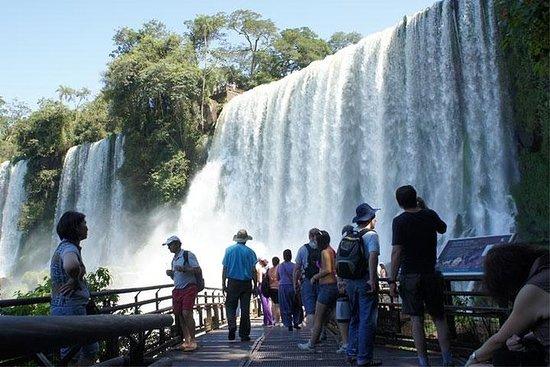 Excursion aux chutes d'Iguazu, côté...