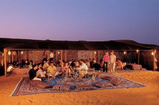 Abendessen nach Beduinenart in den...