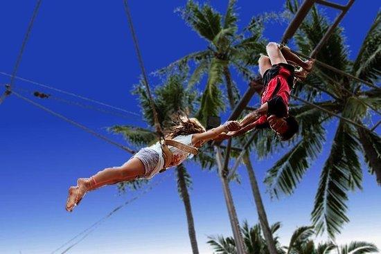 Aventura de trapecio volador en Phuket