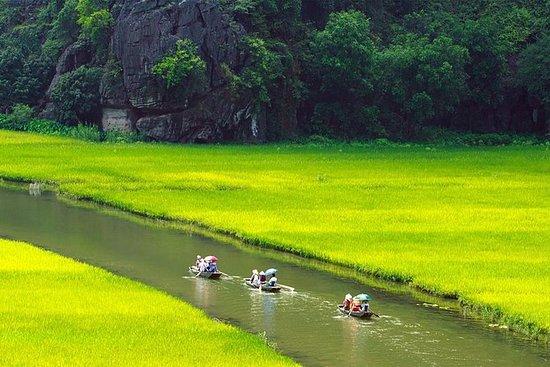 Tagestour nach Hoa Lu und Tam Coc ab...