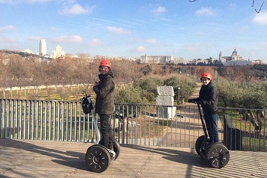 Segway experience in the Royal Forest...