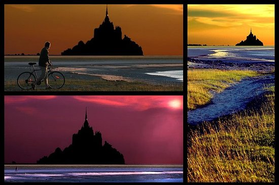 To-dagers Mont Saint Michel og D-Day...
