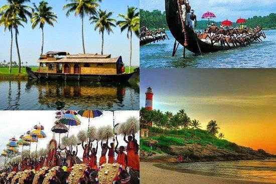 El paquete de Kerala por 8 días...