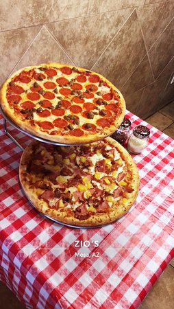 2 Large two topping pizzas only $16.99