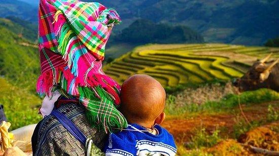 Motorsykkel Sapa-Mu Cang Chai tur 5...