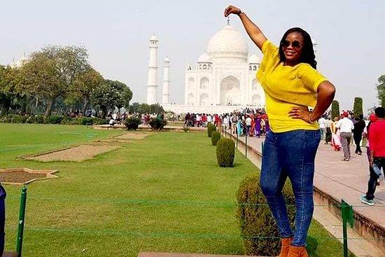 Excursão privada pela cidade de Taj...