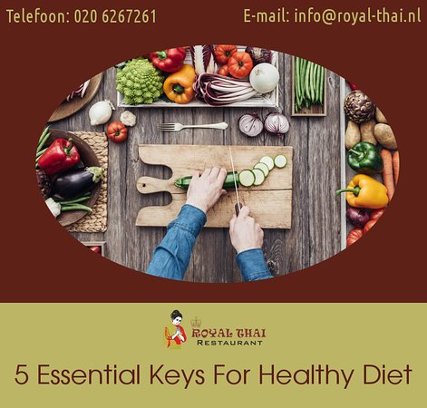 5 Essential Key for healthy diet