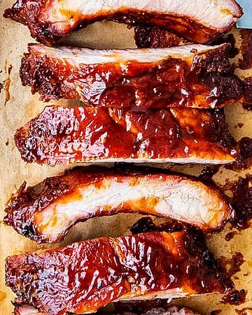 Northampton, UK: BBQ ribs
