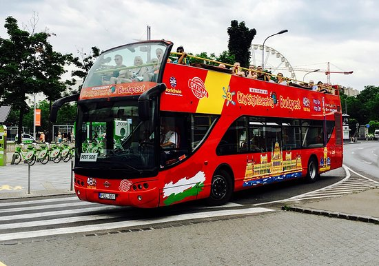 City Sightseeing Budapest Hop-On Hop-Off Tours