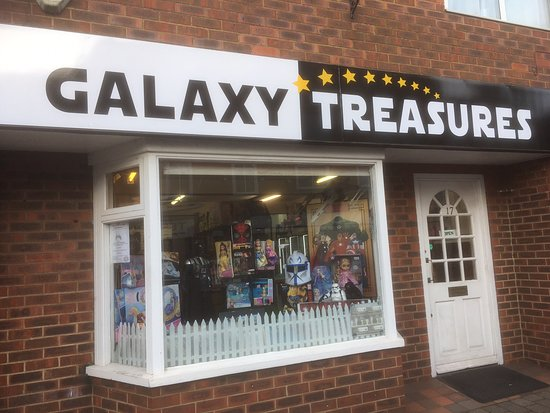 Hampshire, UK: Galaxy Treasures