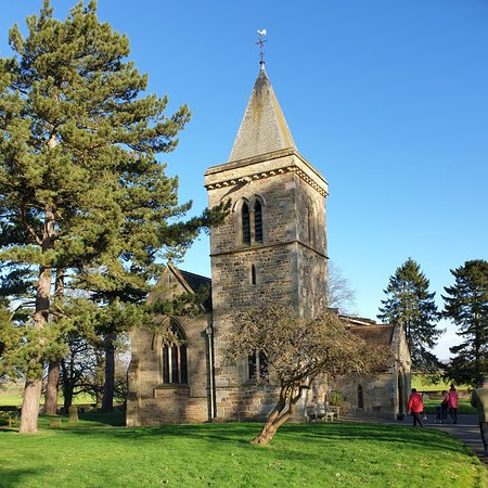 All Saints Church, Kirby Hill from the Lynch Gate