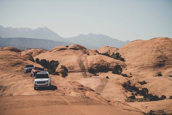 Land Rover Adventure Travel Moab