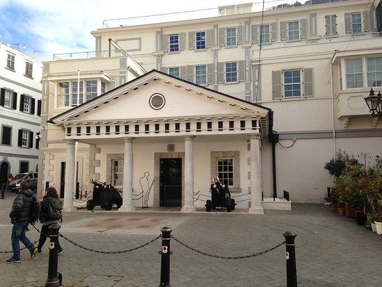 Gibraltar Town: Parliament building