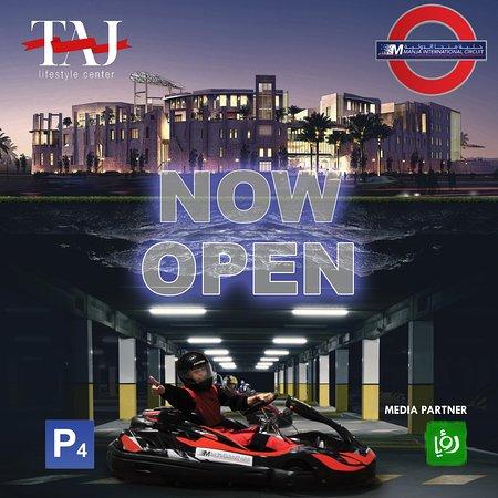 Manja Underground Karting: Now open at Taj Mall !