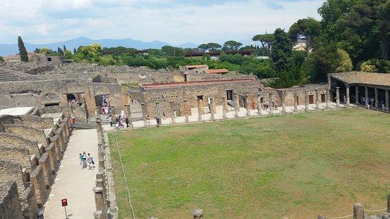 Pompeii Archaeological Park: Αρχαιολογικός χώρος