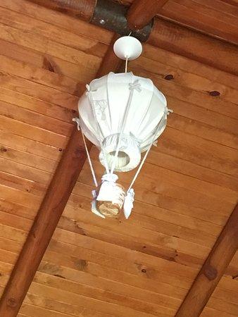 Quesada, Costa Rica: Lampe in Nummer 6