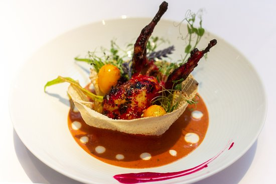 Contemporary Indian cuisine