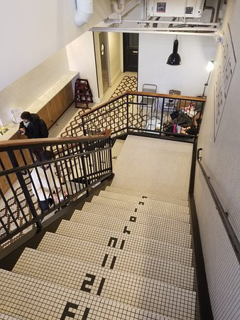 Tatte Bakery & Cafe: Stairway to Heaven