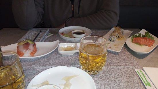Vigliano Biellese, Italy: sushi