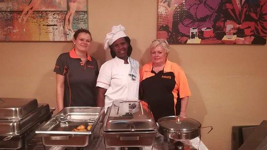 Lichtenburg, Republika Południowej Afryki: Buffet always a special occasion!!