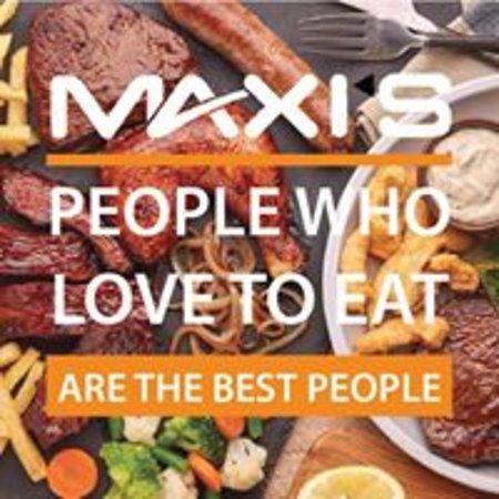 Lichtenburg, Republika Południowej Afryki: People meet at Maxi's to eat!!