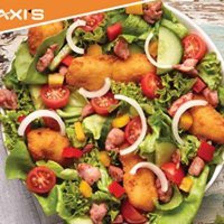 Lichtenburg, Republika Południowej Afryki: Not just breakfast, hamburgers or steaks …...we love our salads!!