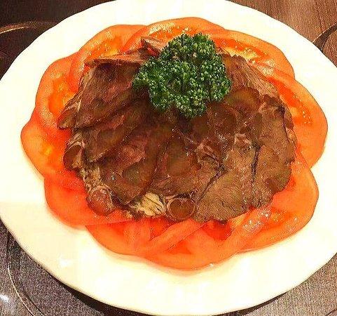 【ディナー】牛肉の醤油煮