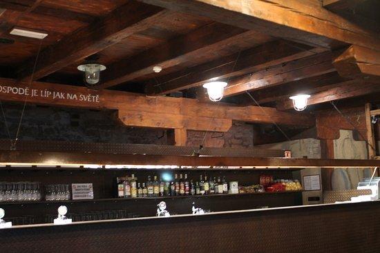 Zatec, Czech Republic: le bar