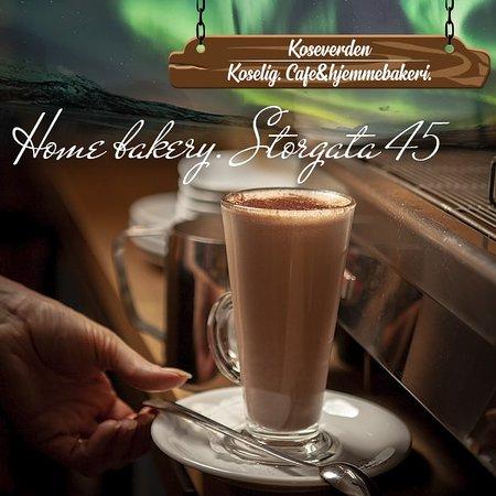 Hot chocolate. Varm sjokolade.