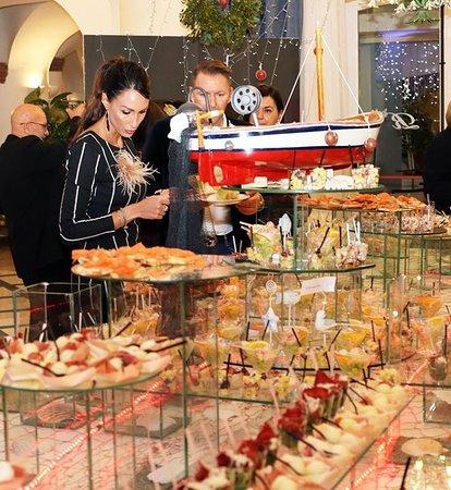 Una foto del buffet...