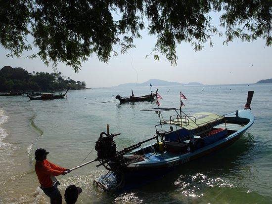 Lugar ideal para alquilar un bote y visitar las islas
