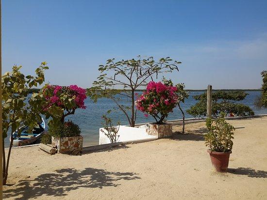 Mar Lodj, Senegal: Le plaisir des yeux et endroit très calme