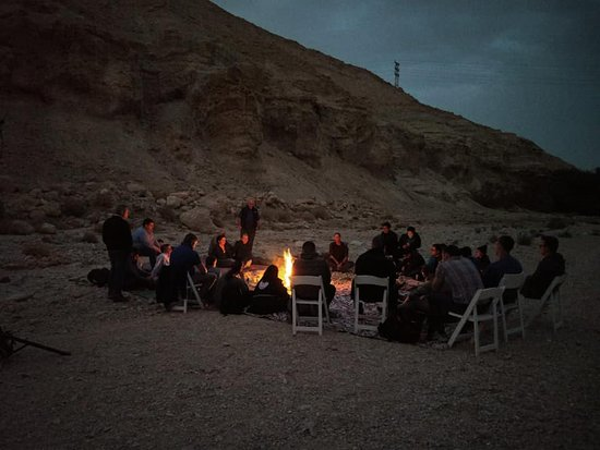 Dead Sea Region, Israel: its been a hard day's night