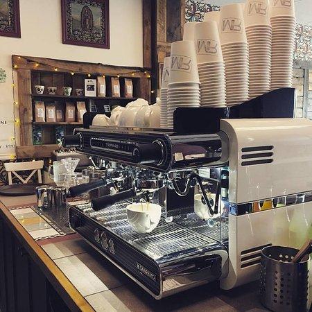 Rojo Marron Mexican Restaurant & Cafe: Fresh Coffee